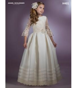 Vestido primera comunión de Angel Schlesser H401