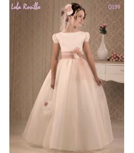 Vestido primera comunión de Lola Rosillo Q199