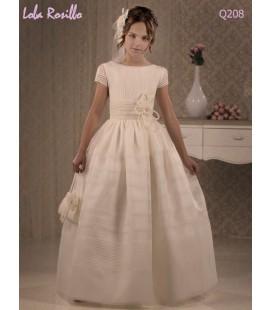 Vestido primera comunión de Lola Rosillo Q208