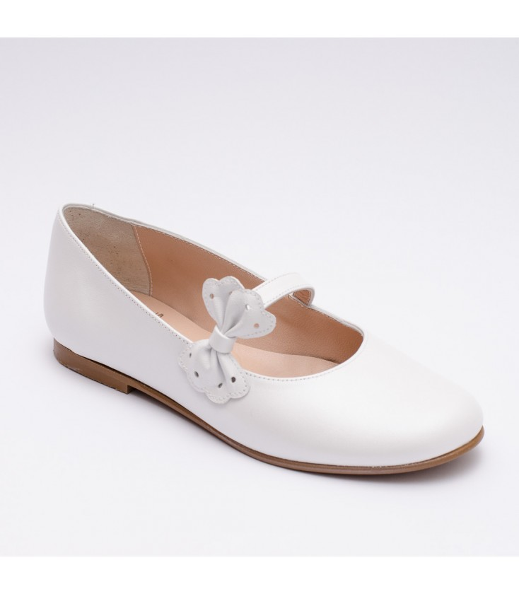 Para Zapato Blanco Andromeda Comunión Niña Primera JcKTlF1
