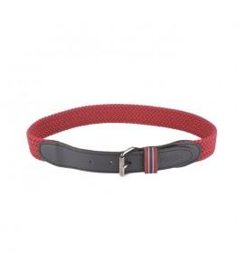 Cinturón trenzado rojo para niño de Lion Of Porches