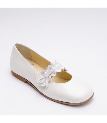 Zapato Primera Comunión para niña - Blanco