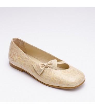 Zapato Primera Comunión para niña - Cebu Beige