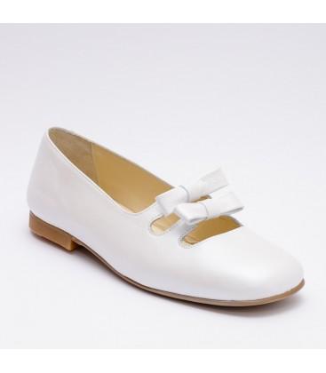 Zapatos para Primera Comunión de Landos - Blanco