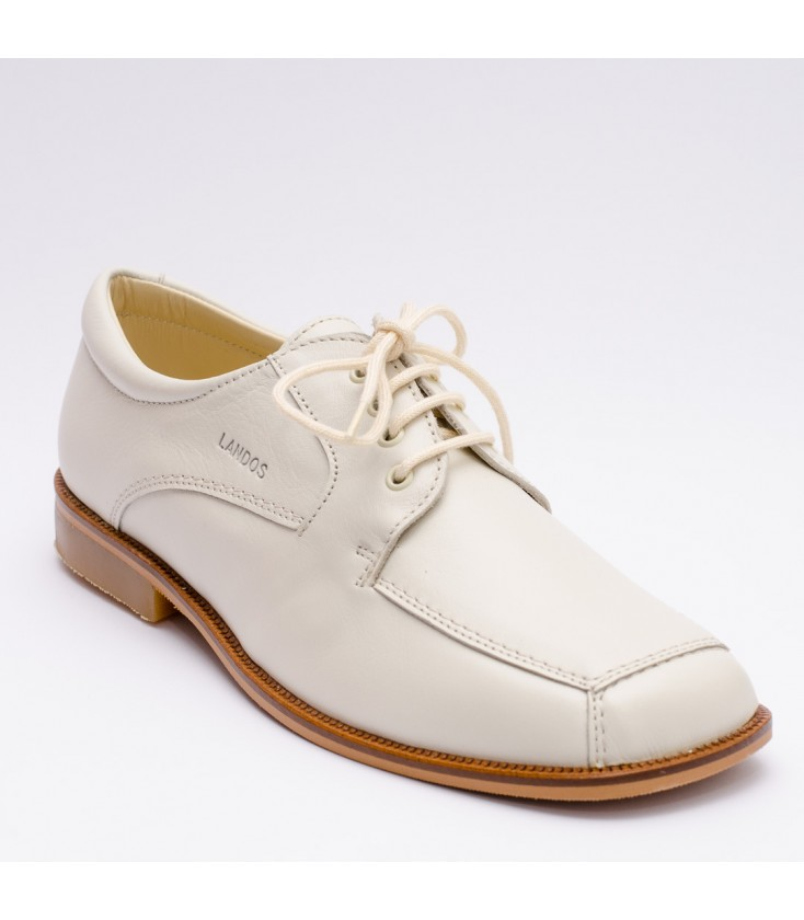 1668d95728f Zapatos Primera Comunión para niño - Beige - Adriels Moda Infantil