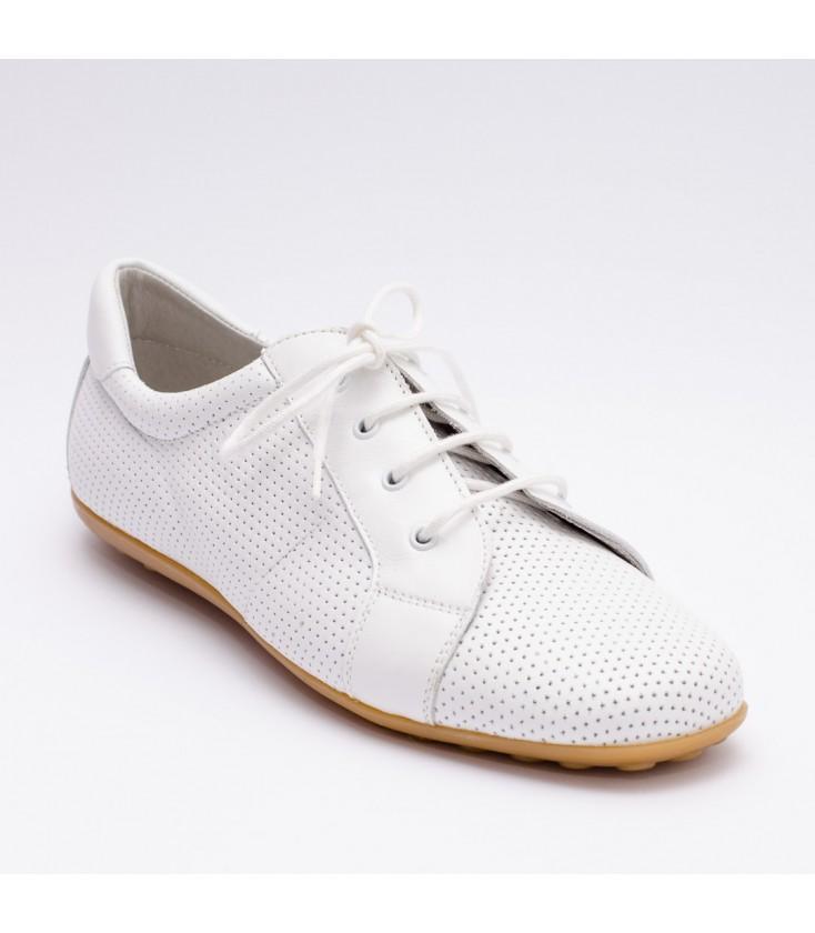 100% Calidad clientes primero fabricación hábil Zapatos para niño de Calzados Landos - Blanco