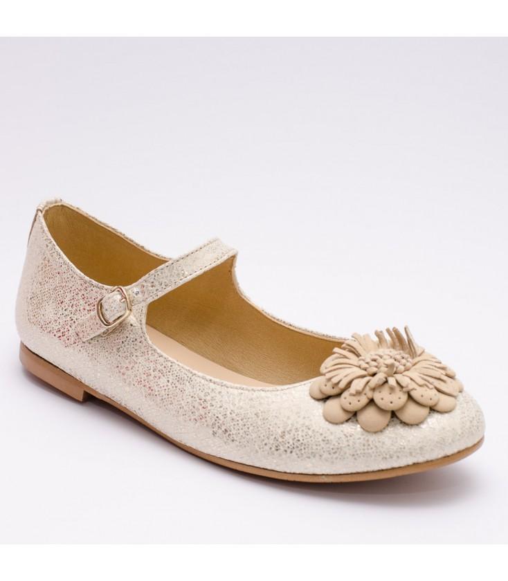 027436985 Zapatos Primera Comunión de Clarys - Platino - Adriels Moda Infantil