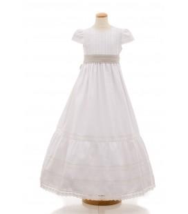 Vestido de comunión para niña de Mamen