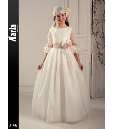 Vestido primera comunión de Marla J146