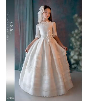 Vestido primera comunión de Hannibal Laguna J304