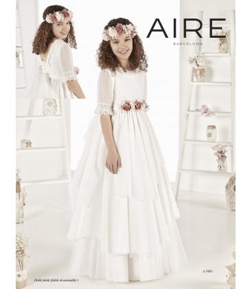 Vestido romántico primera comunión de Aire Barcelona - A1984