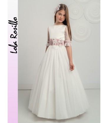 Vestido primera comunión de Lola Rosillo - Q255