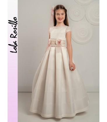 Vestido primera comunión de Lola Rosillo - Q310