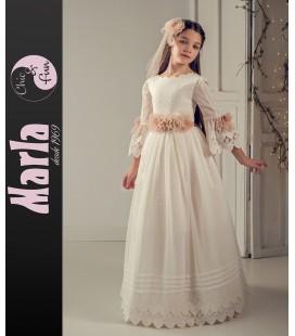 Vestido primera comunión de Marla J190