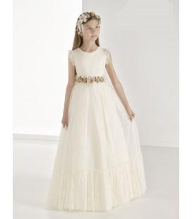 Vestido vintage para primera comunion 9815 de Carmy