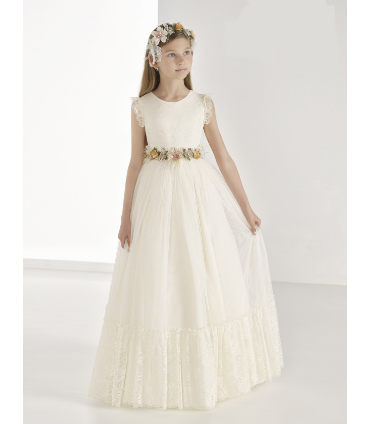Vintage De 9815 Para Comunion Moda Vestido Carmy Primera