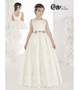 Vestido vintage para primera comunion DL914 de Carmy Deluxe