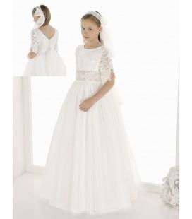 Vestido fantasía para primera comunion de Carmy - 9822