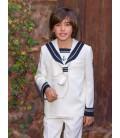 Traje marinero para primera comunión de Alfa 3 - Crudo