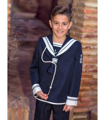 Traje marinero para primera comunión de Alfa 3 - Marino