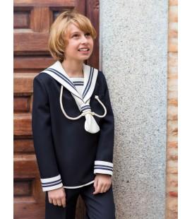 Traje marinero galón para primera comunión de Alfa 3 - Marino