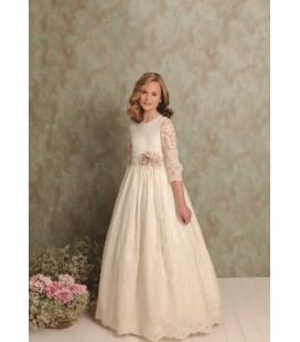 Vestido romántico para primera comunión de Quinper