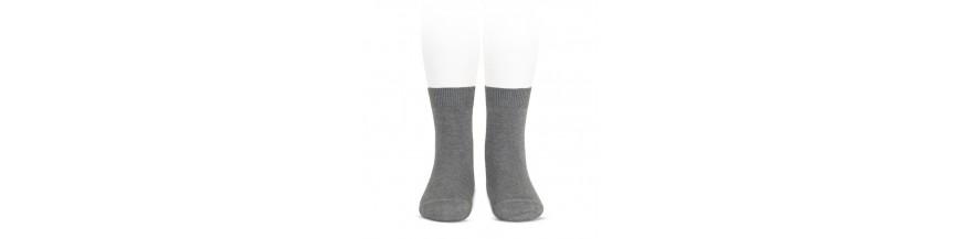 Calcetines cortos lisos